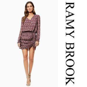 Ramy Brook Vina L/S Dress Sz S